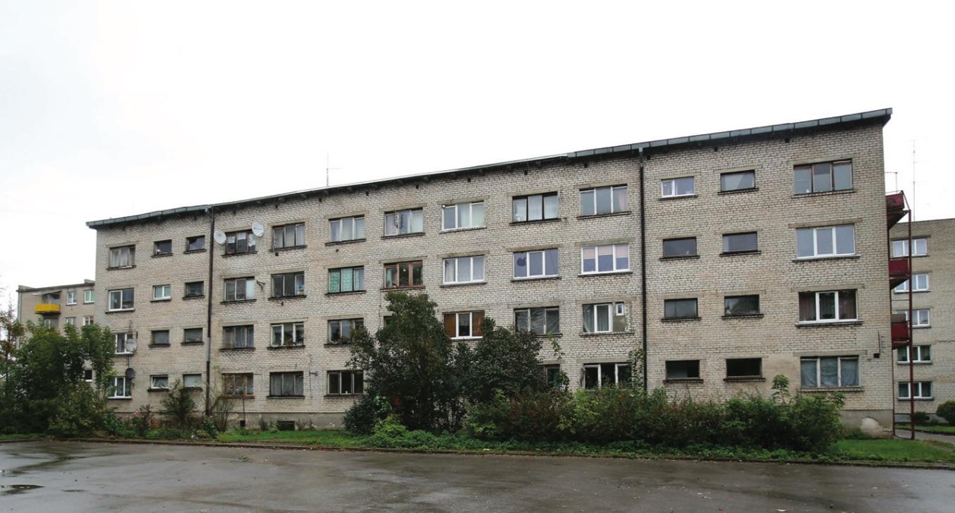 Netrukus renovacijos darbai prasidės ir Žemaitės kvartale./ Algimanto Barzdžiaus nuotr.