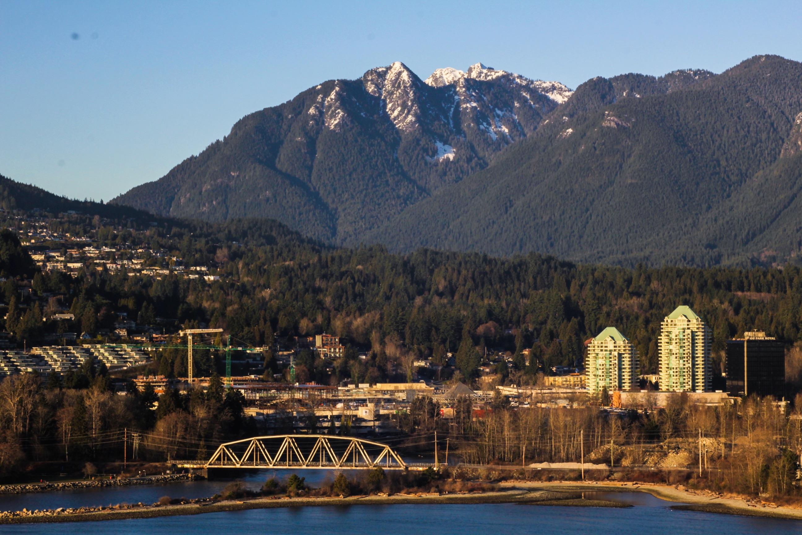 Vankuverio miesto panorama ir Cypress kalnai. Asmeninio archyvo nuotr.