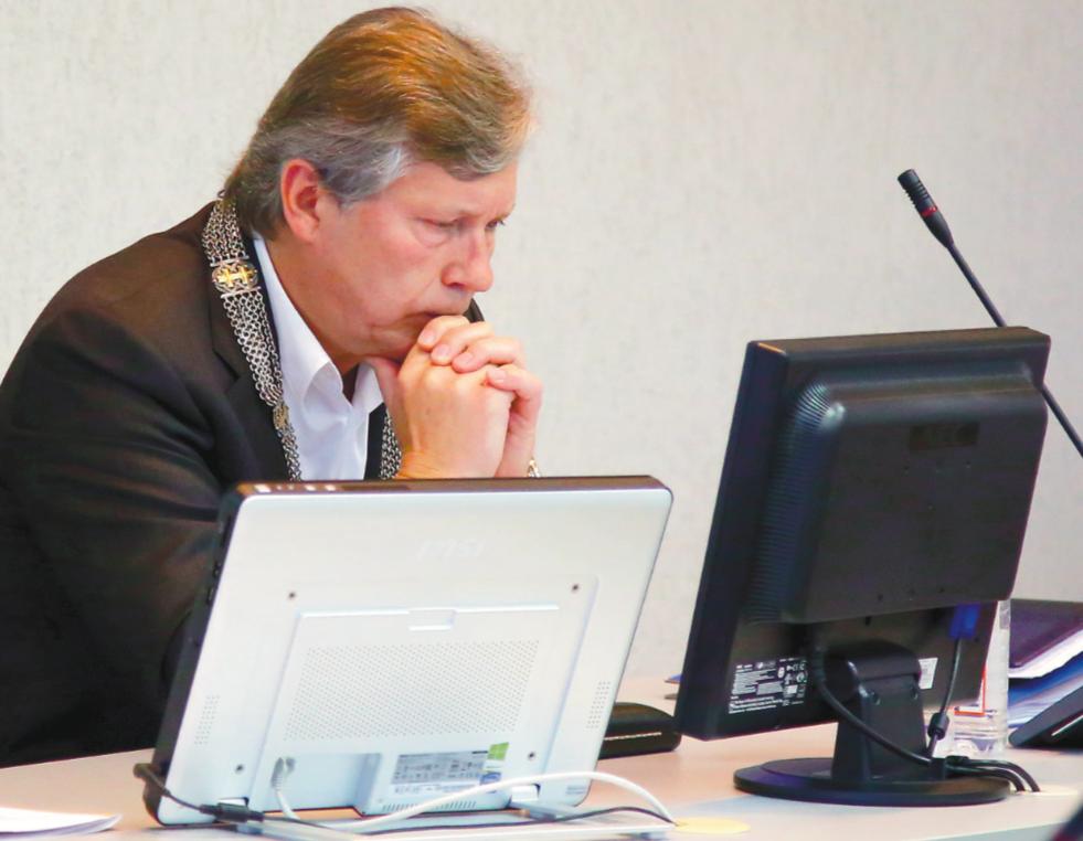 Kėdainių rajono meras S. Grinkevičius daugumos gyventojų įvertintas neigiamai, nepatenka ir į pačių blogiausių, į paraštes nustumtų šalies savivaldybių vadovų sąrašą. G. Minelgaitės-Dautorės nuotr.