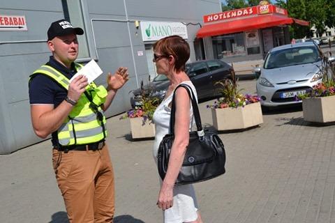 Policijos pareigūnai ir policijos rėmėjai taip pat aiškino kėdainiečiams, kaip apsaugoti savo būstą nuo vagysčių.