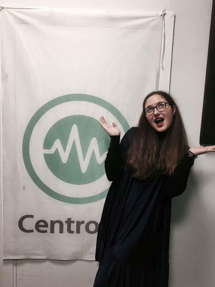 """Kėdainių radijo """"Centro FM"""" laidoje. / Asmeninio archyvo nuotr."""