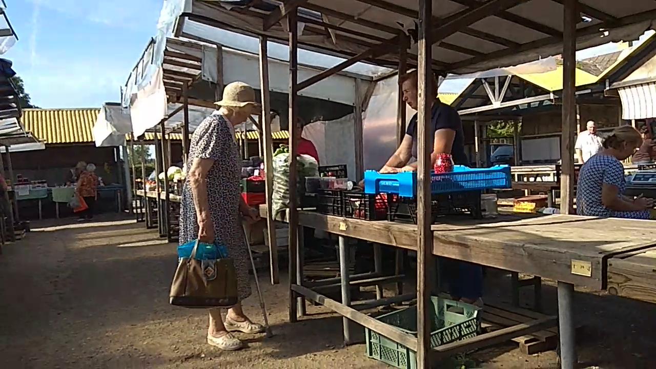 Turgaus stalai trečiadienį buvo nukrauti įvairiausiomis daržovėmis, vaisiais ir uogomis. / Dimitrijaus Kuprijanovo nuotr.
