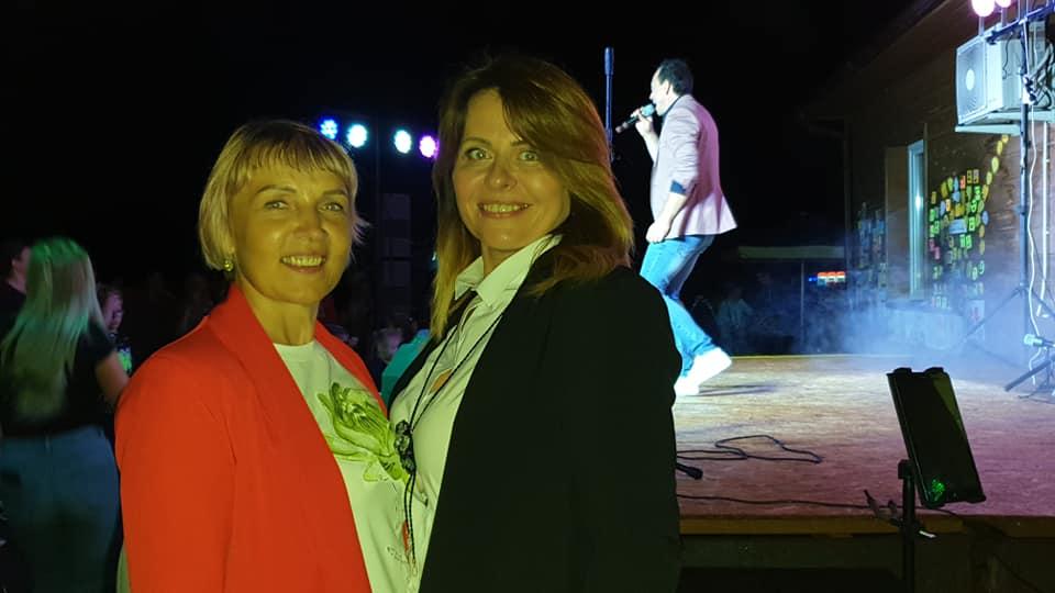 Šventės organizatorės: Kėdainių kultūros centro Nociūnų skyriaus vadovė, programos vadovė Daiva Makutienė (kairėje) ir Nociūnų bendruomenės centro pirmininkė Vaida Stanevičienė./ Organizatorių nuotr.
