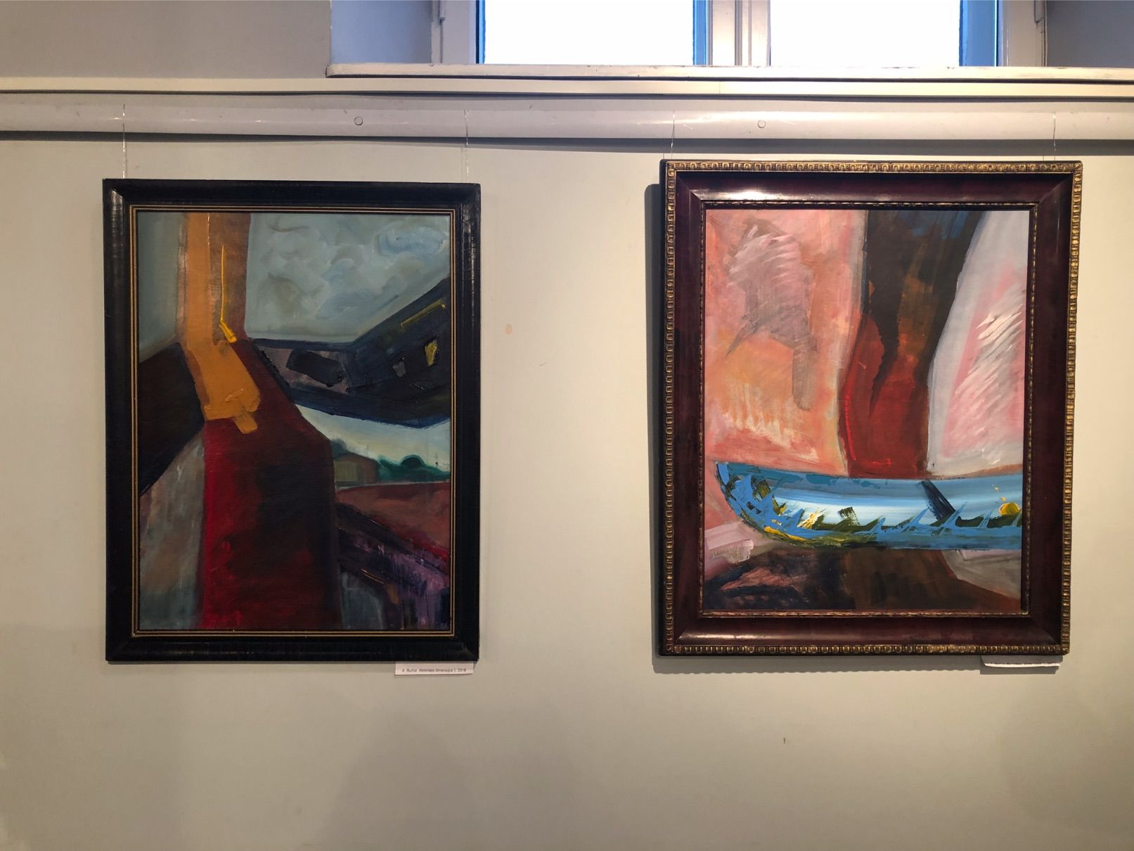 A. Burba, savo tapybos darbuose bando analizuoti vizualias atminties išraiškas. / D. Borodinaitės nuotr.