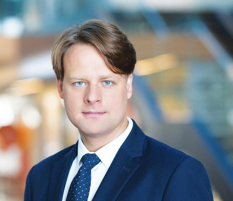 """""""Swedbank"""" Smulkių verslo klientų ir rinkodaros vadovas Aivaras Janušauskas."""