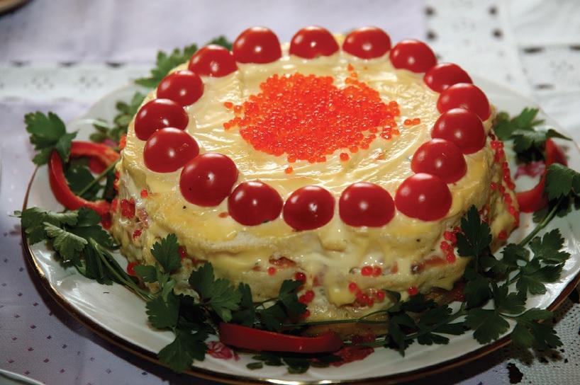 Žuvies tortas. Algimanto Barzdžiaus nuotr.