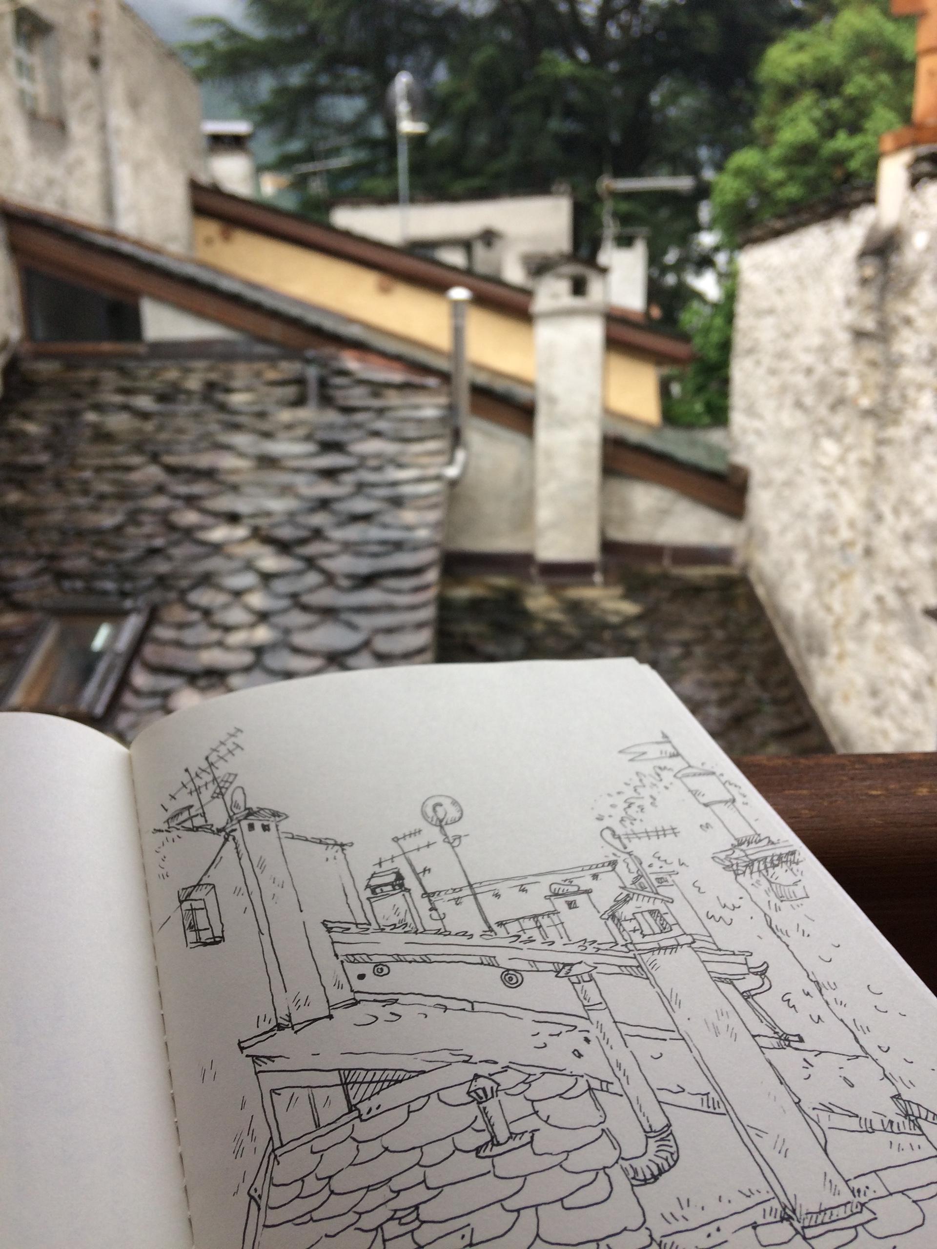 Chiavenna (Italija). Asmeninio archyvo nuotr.