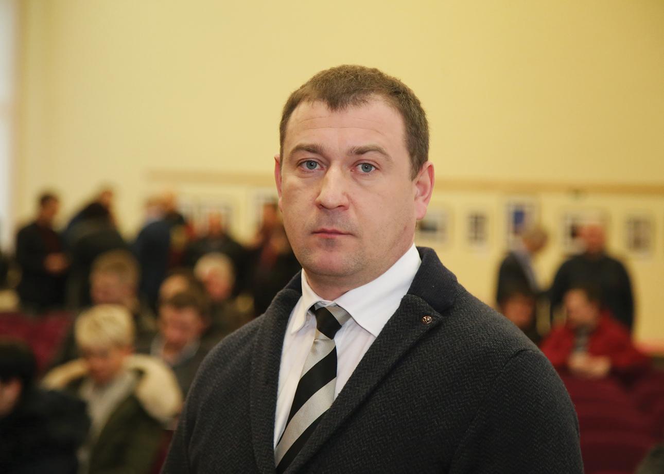 Vienas iš forumo organizatorių Lietuvos žemės ūkio kooperatyvų asociacijos pirmininkas Dainius Kižauskas yra įsitikinęs, kad melioracijos tinklams atnaujinti reikia ženkliai mažiau lėšų nei deklaruoja valstybinės institucijos. Giedrės Minelgaitės-Dautorės nuotr.