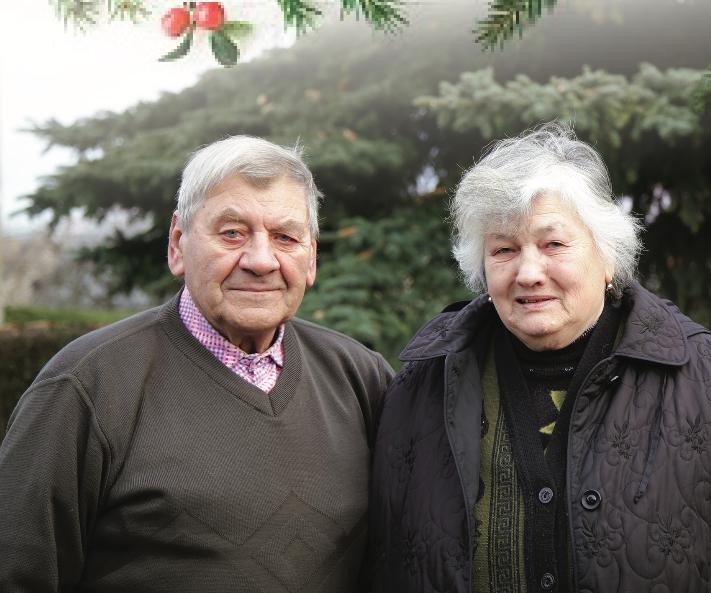 Keleriškietė Emilija Voveraitienė gimė gruodžio 25-ąją, Kalėdų dieną./ G. Minelgaitės-Dautorės nuotr.