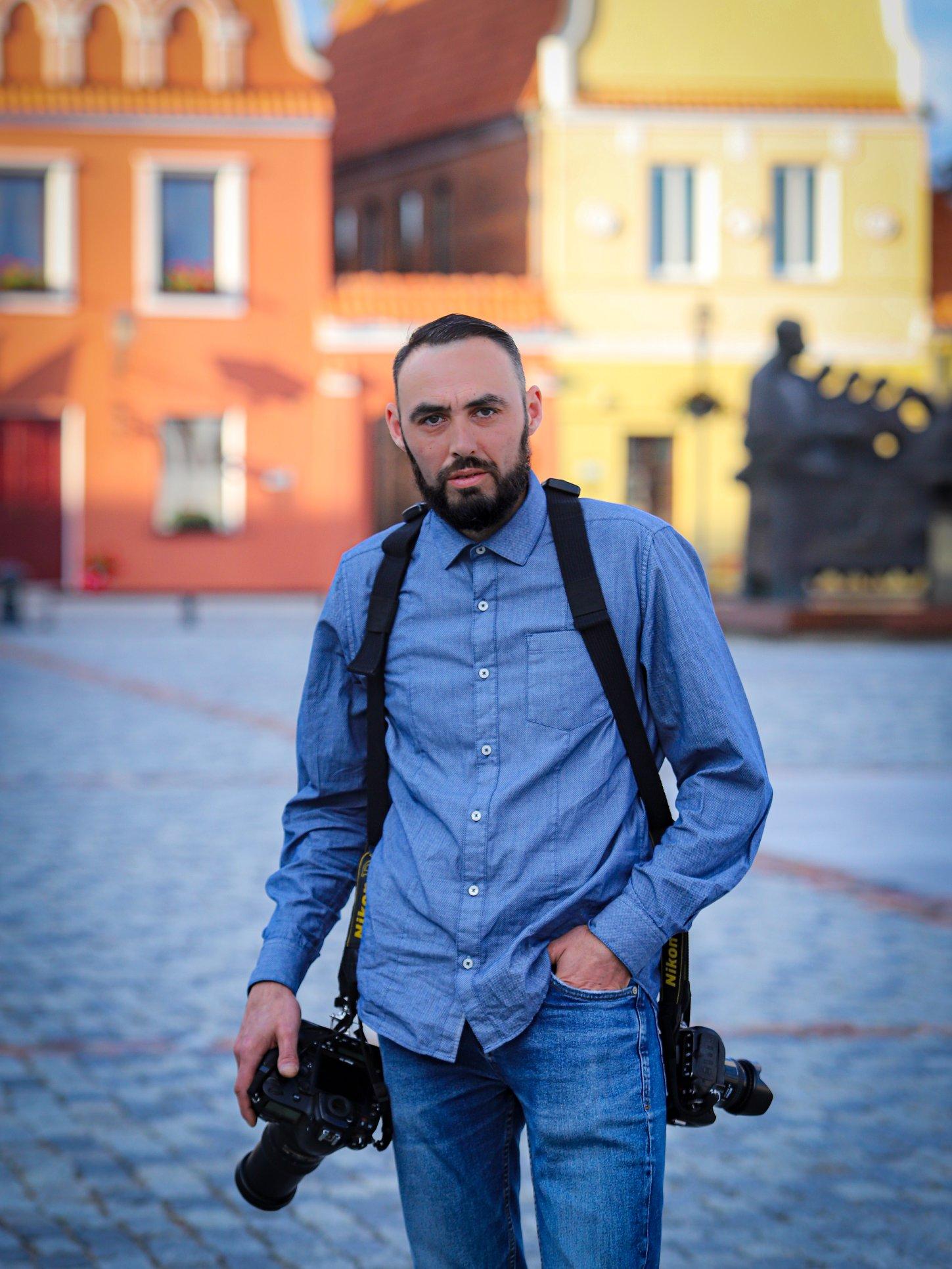 Fotografas Ernestas Zarnadzė./ Arvydo Kantauto nuotr.