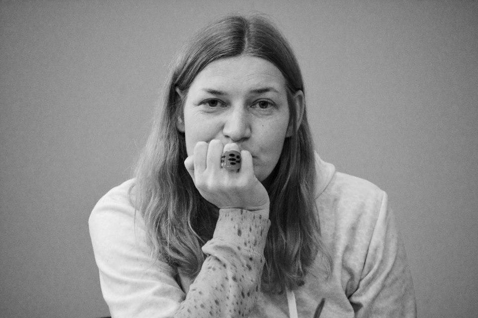 """""""Šiaurės Atėnai"""" vyr. redaktorė, poetė, eseistė Giedrė Kazlauskaitė. Dainiaus Dirgėlos nuotr."""