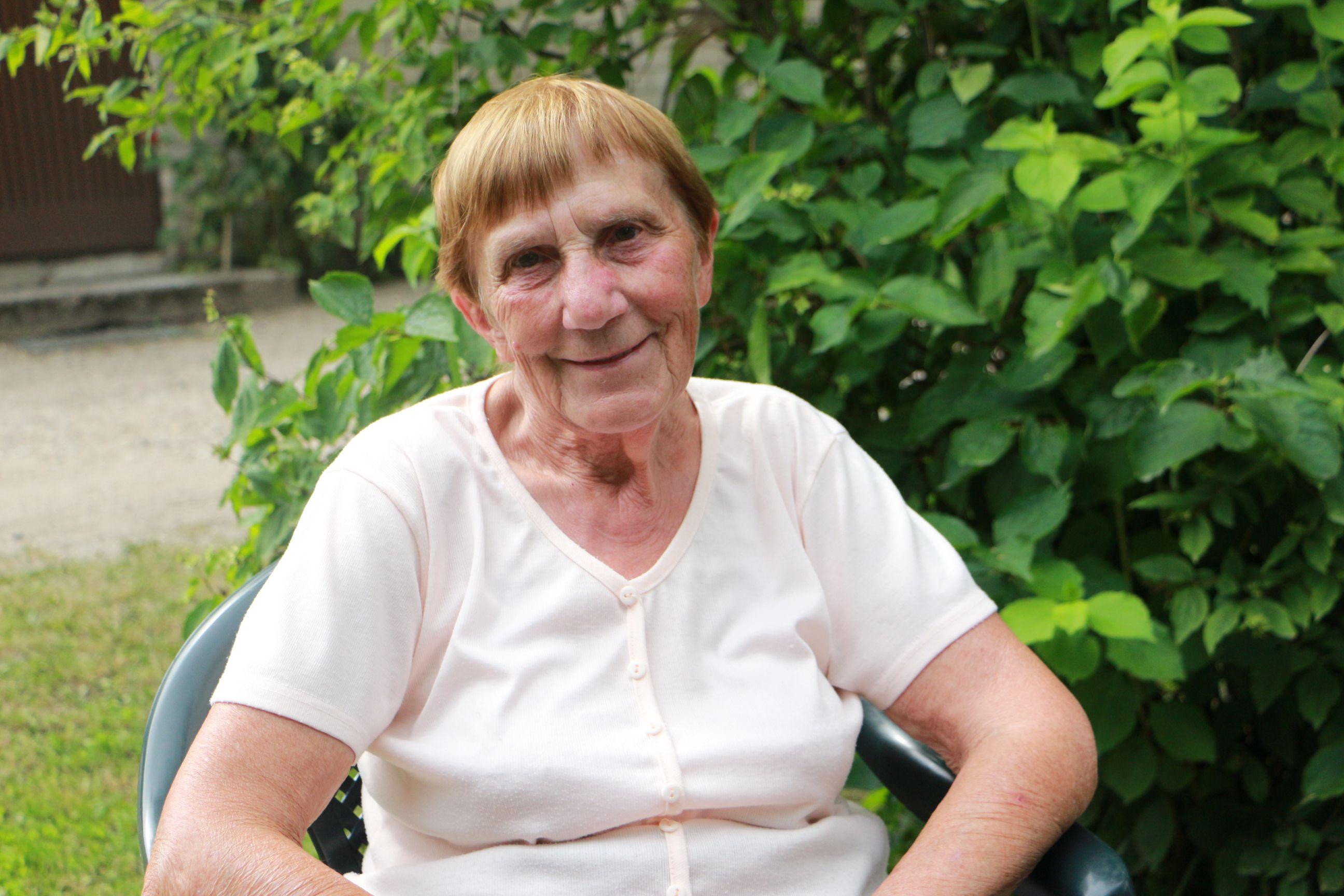Ilgametė kaimo medicinos punkto felčerė Angelė Barščiauskienė Langakiuose išdirbo 47 metus. D. Borodinaitės nuotr.