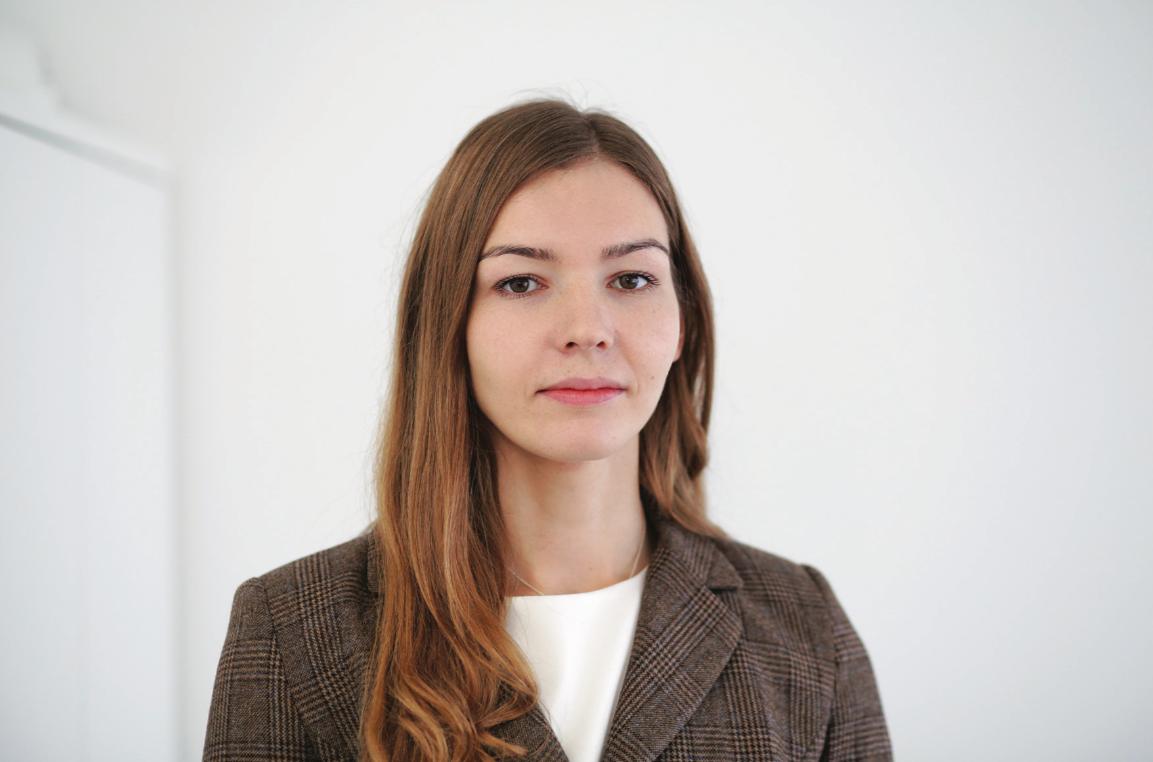 """Naujoji bendrovės """"Lifosa"""" viešųjų ryšių atstovė Indrė Mažeikienė. G. Minelgaitės-Dautorės nuotr."""