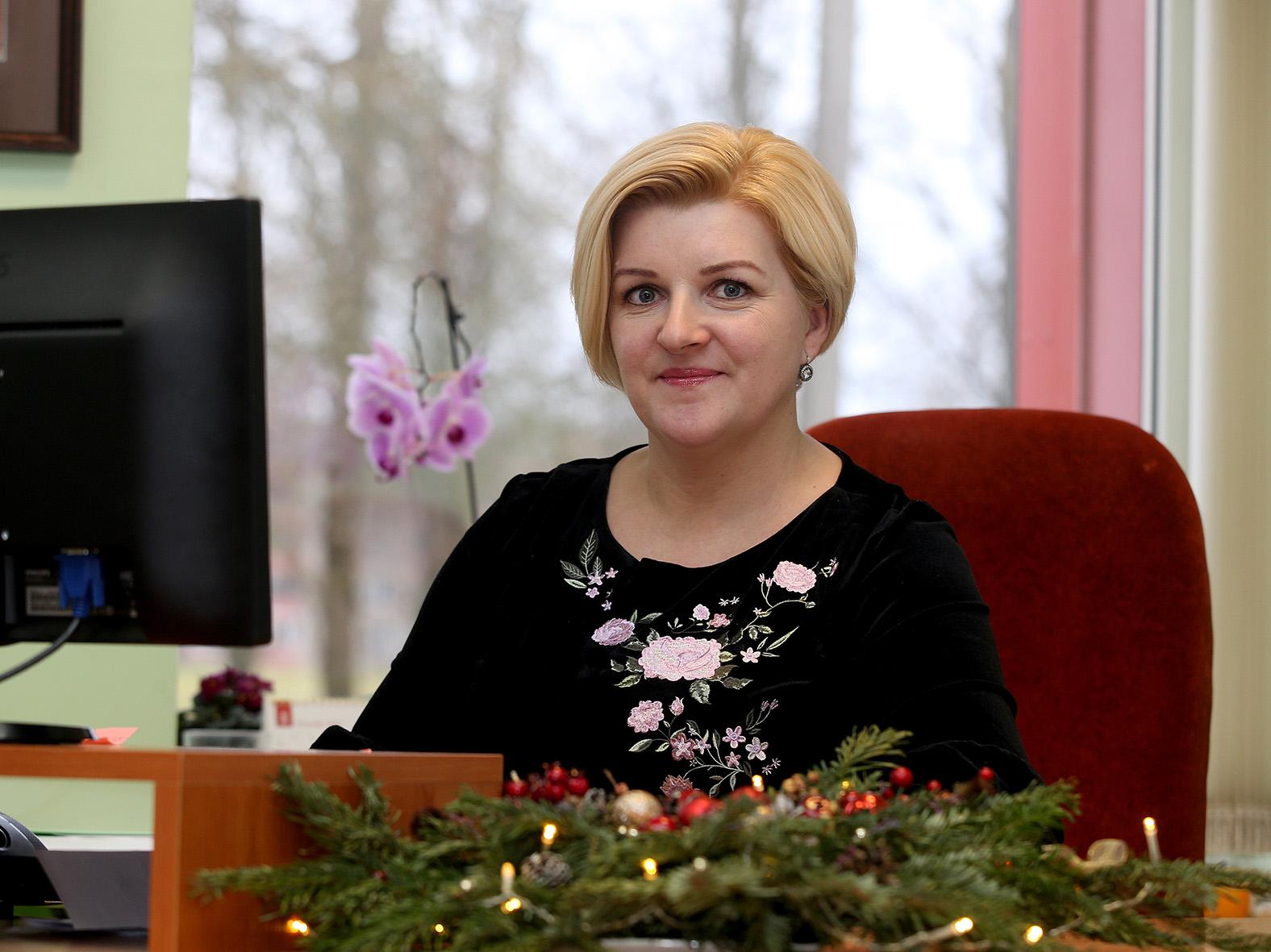Surviliškietė Irma Kriščiūnienė gimė gruodžio 31-ąją, Naujųjų metų išvakarėse./ A. Barzdžiaus nuotr.