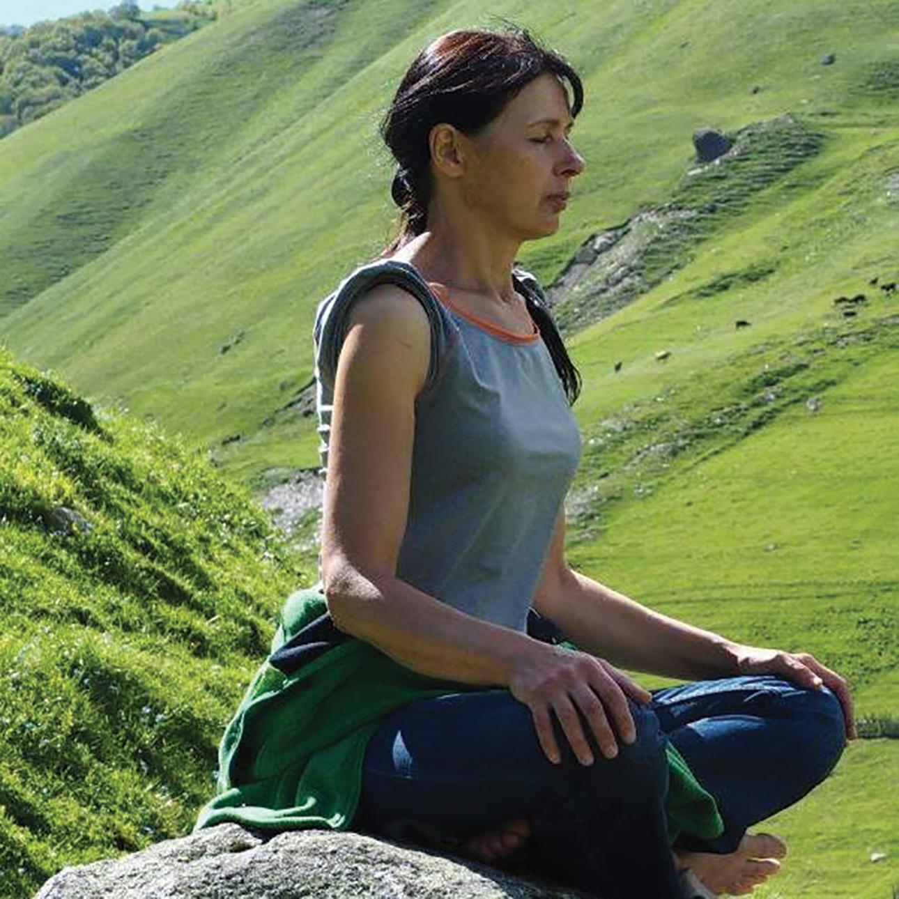 Pašnekovės meditacijos akimirkos įstabios Gruzijos gamtos lopšyje. Asmeninio archyvo nuotr.