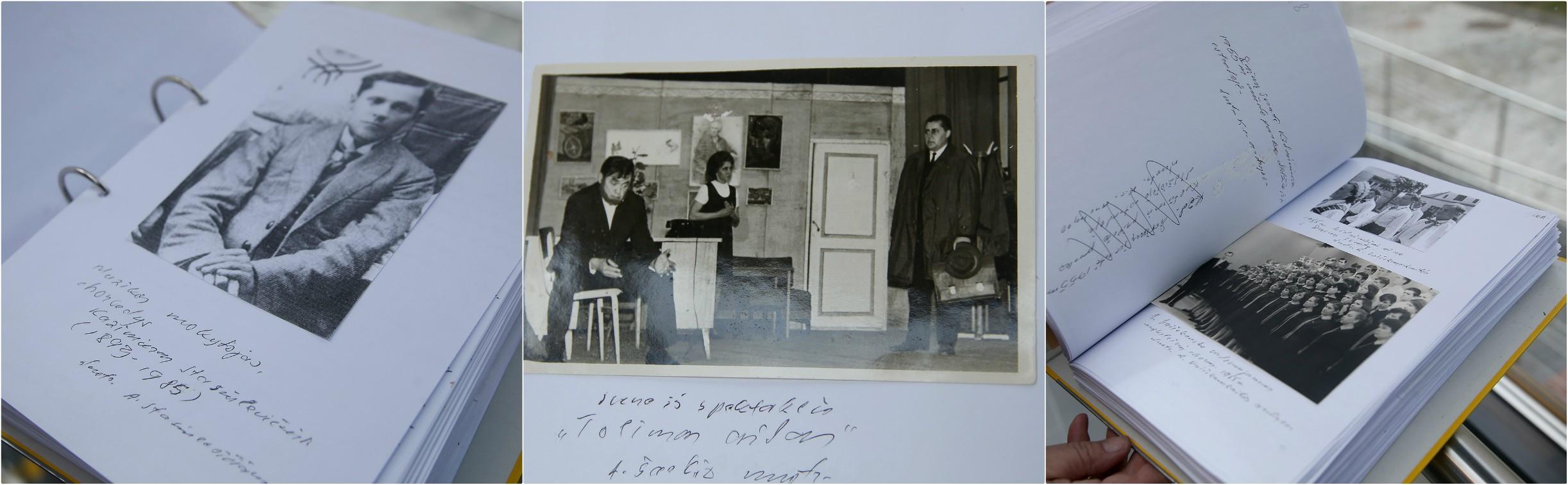 Jono Jucevičiaus parengtą rankraštį sudaro net 469-i ranka parašyti puslapiai. Algimanto Barzdžiaus nuotraukos