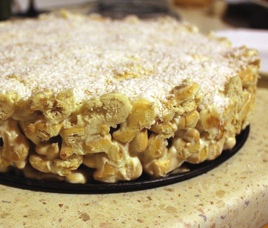 Krekerių tortas