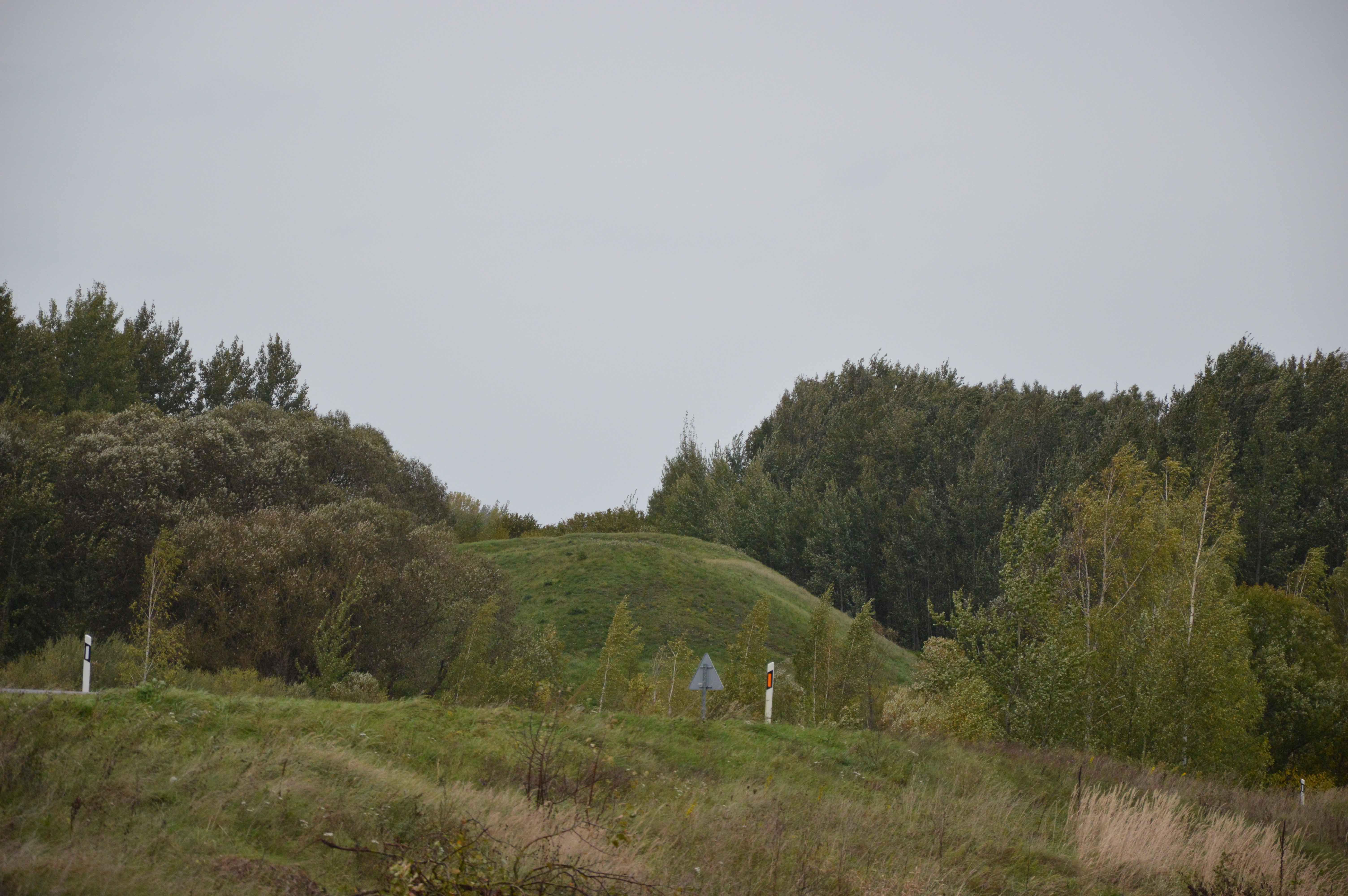 Nuo gyvenvietės pradžios atsiveria puikus vaizdas – Sangailų piliakalnis. Juditos Gaižiuvienės nuotr.