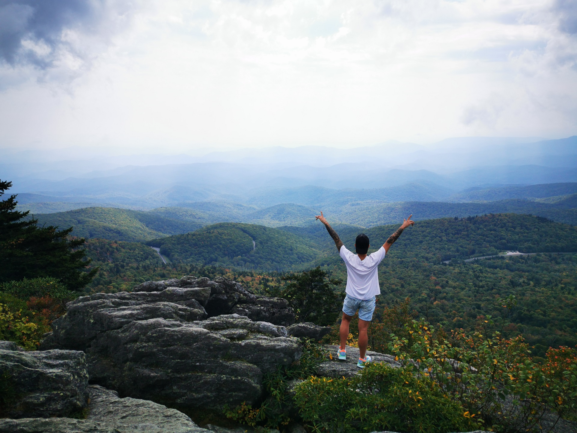 Grandfather Mountain, Šiaurės Karolina. / Asmeninio archyvo nuotr.