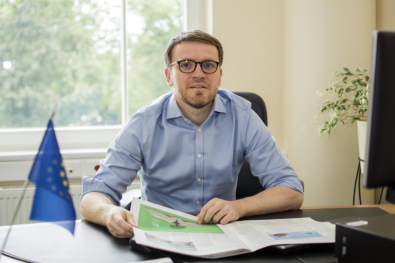 """Marius Vaščega: """"Kaip ir kitose Europos Sąjungos valstybėse, pastaruosius ketverius metus Lietuvoje vartojimas auga ir išlieka vienu iš svarbiausių Lietuvos ekonomikos variklių."""""""