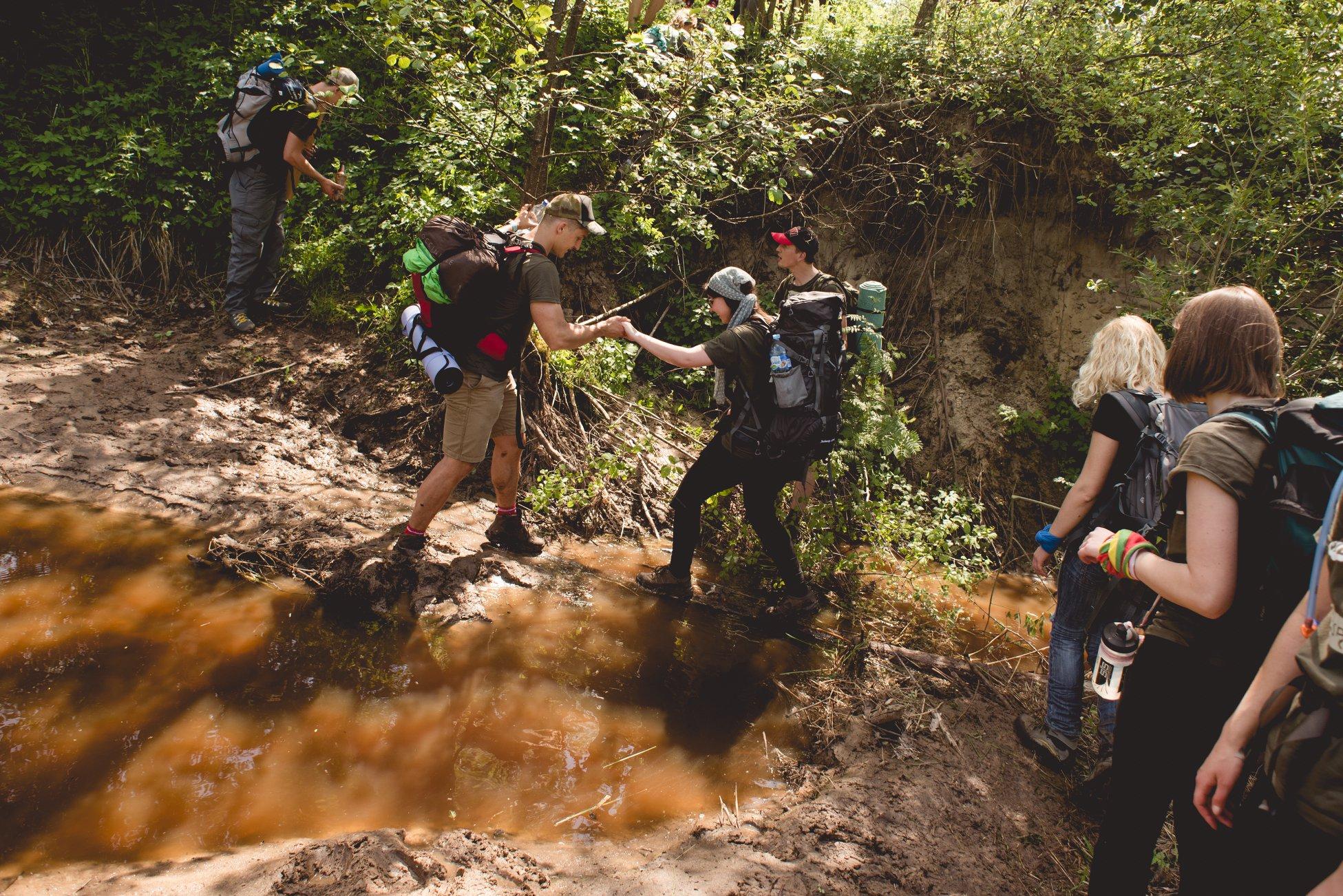 """Nors ekspedicijos """"Misija Sibiras"""" komandą sudaro 16 žmonių, kartu su jais – širdimis ir mintimis – visa Lietuva. Organizatorių nuotr."""