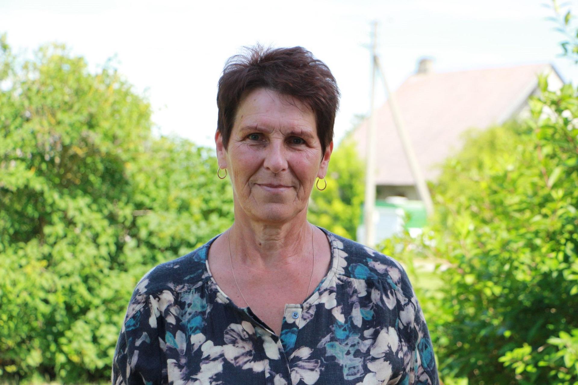 Nijolė Maršalkienė į Petkūnus iš Šlapaberžės atsikėlė prieš daugiau nei 40 metų.