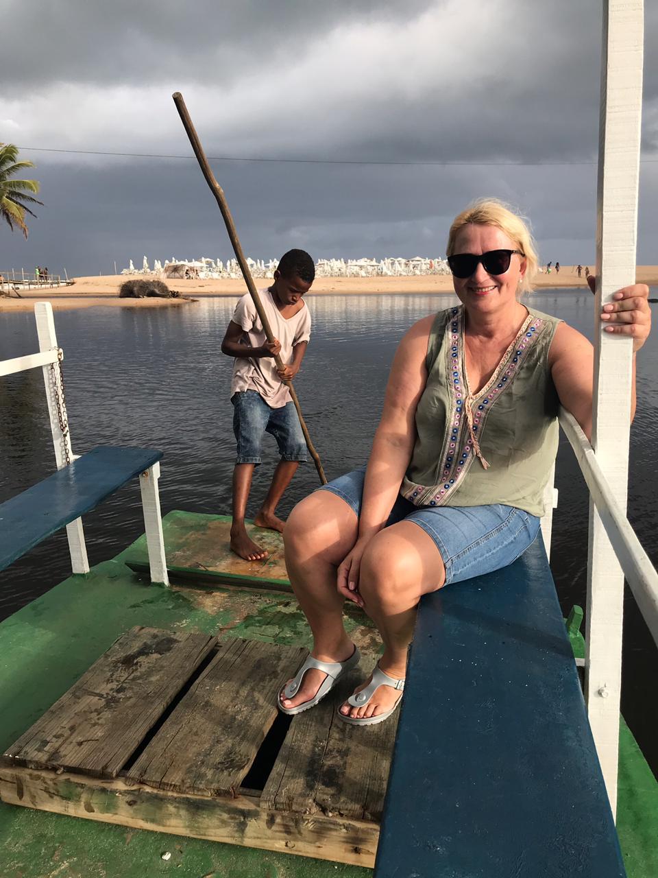 Kėdainių turizmo ir verslo informacijos centro vadovė Daina Balasevičienė šią vasarą net 23 dienoms buvo išvykusi į Braziliją. Kelionės ištakos siekia keletą metų atgal, o viskas prasidėjo nuo vienos brazilų poros vizito Kėdainiuose. / Asmeninio archyvo nuotr.