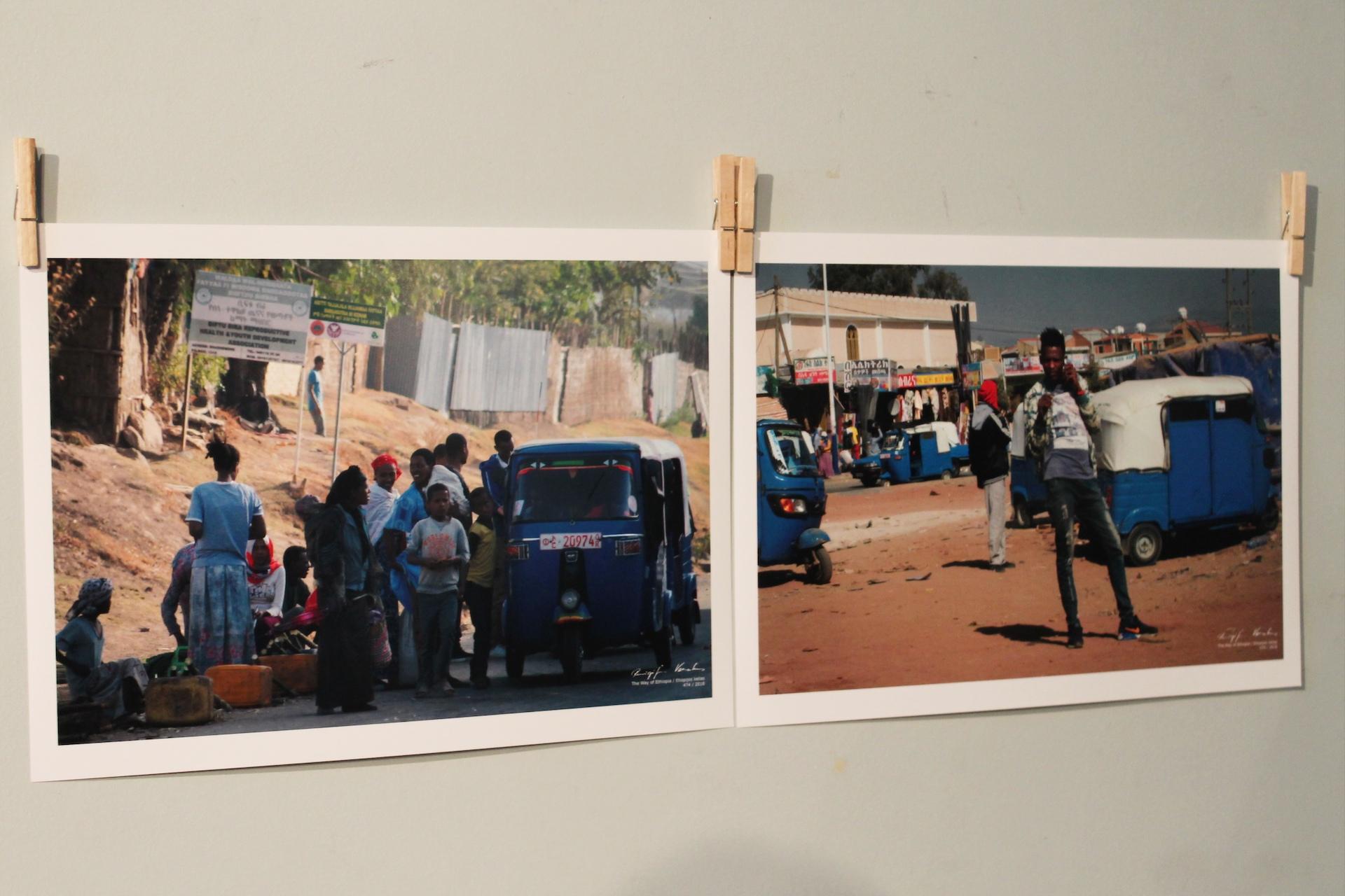 """Parodą """"Etiopijos kelias"""" Daugiakultūriame centre apžiūrėti galima iki balandžio 10 dienos."""