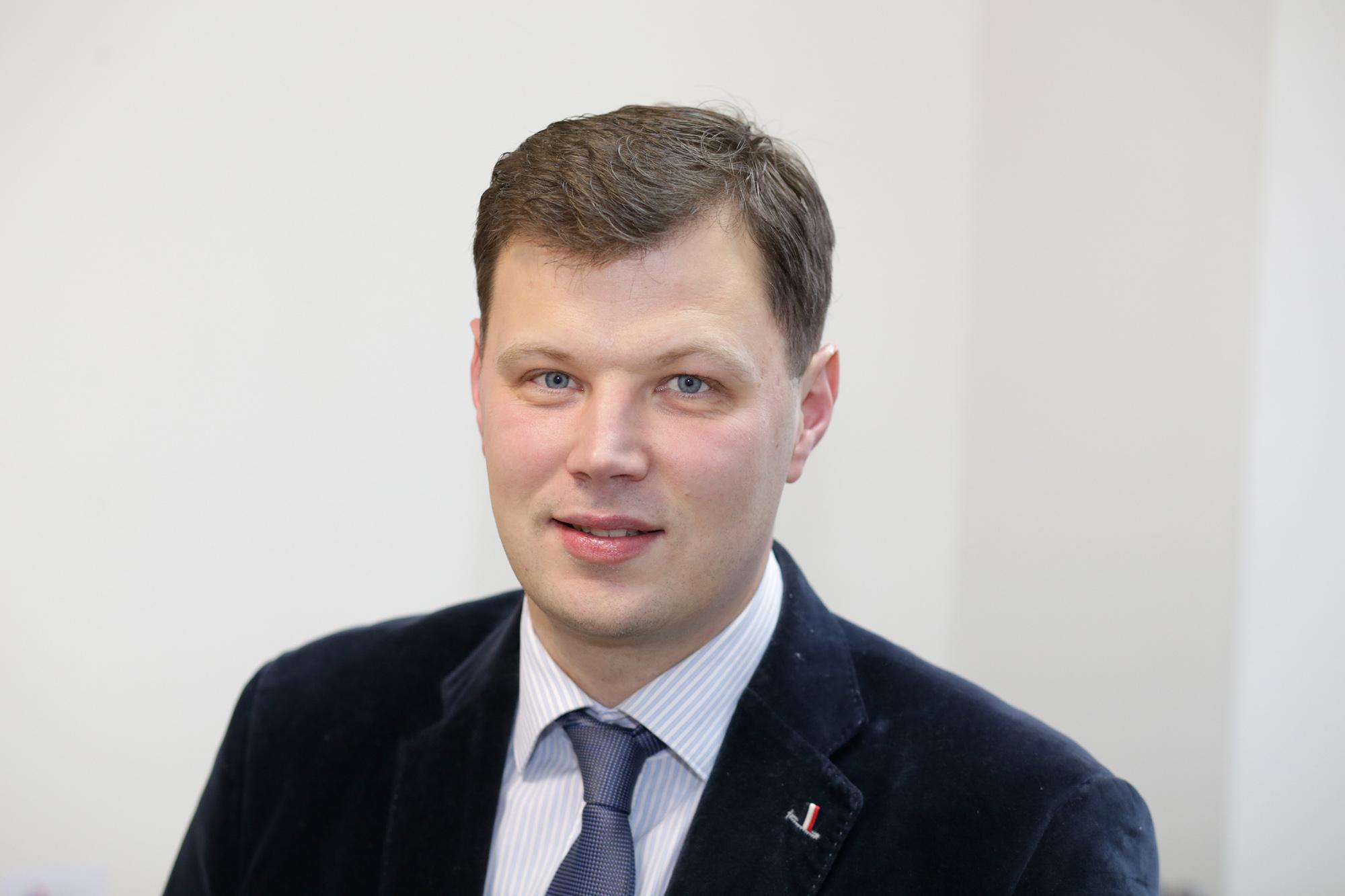 Kėdainių vicemeras Paulius Aukštikalnis. / A. Barzdžiaus nuotr.