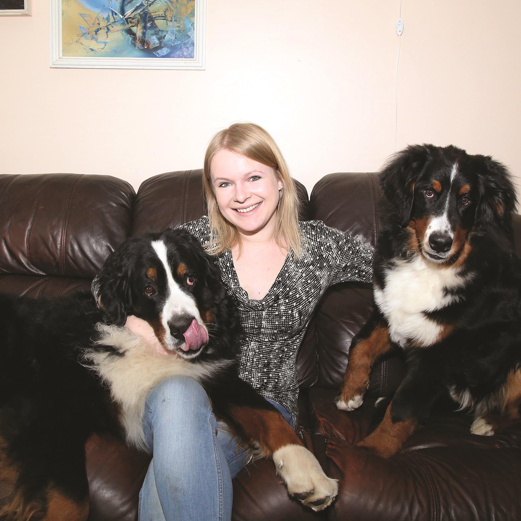 """Viltė Liaugminaitė sako, kad be perstojo lojantis ar kaukiantis šuo praneša aplinkiniams apie savo nerimą. """"Rinkos aikštės"""" archyvo nuotr."""