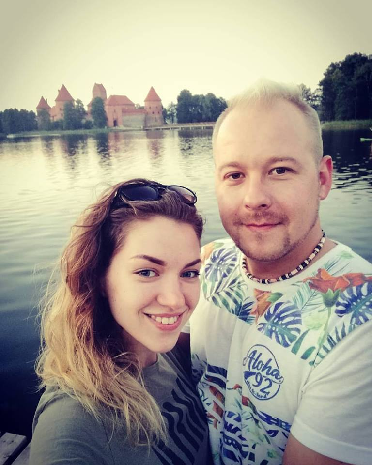 Duetas ir profesinėje veikloje, ir namuose: A. Lysenka su širdies drauge dainininke Aurėja Bartusevičiūte. Asmeninio archyvo nuotr.