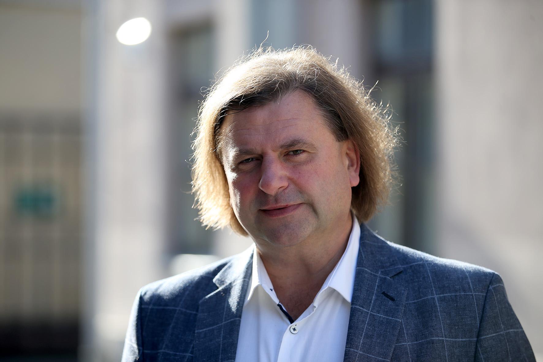 Kėdainių krašto muziejaus direktorius Rimantas Žirgulis. Algimanto Barzdžiaus nuotr.