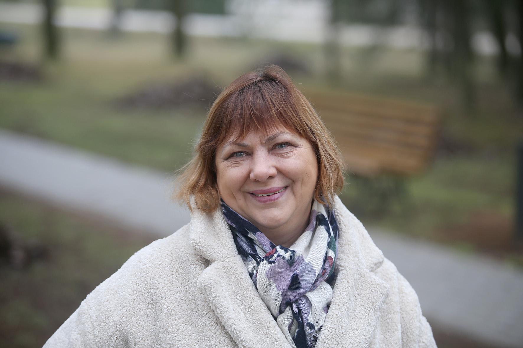 """Bendruomenės pirmininkė Rita Lankelienė į Beinaičių kaimą iš Pasvalio atsikėlė prieš 40 metų./ Algimanto Barzdžiaus/ """"Rinkos aikštės"""" archyvo nuotr."""