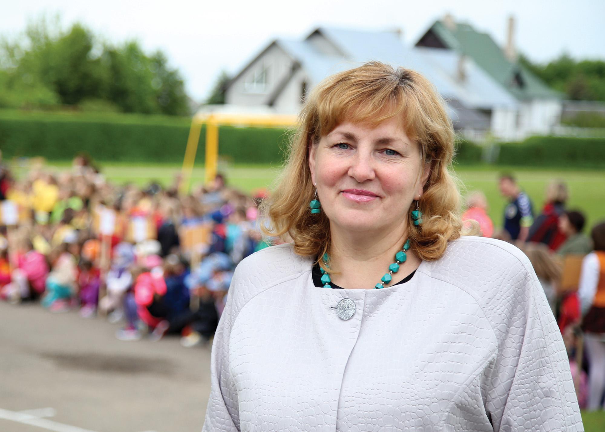 Direktoriaus pavaduotoja ugdymui Rita Lukoševičienė. G. Minelgaitės-Dautorės nuotr.
