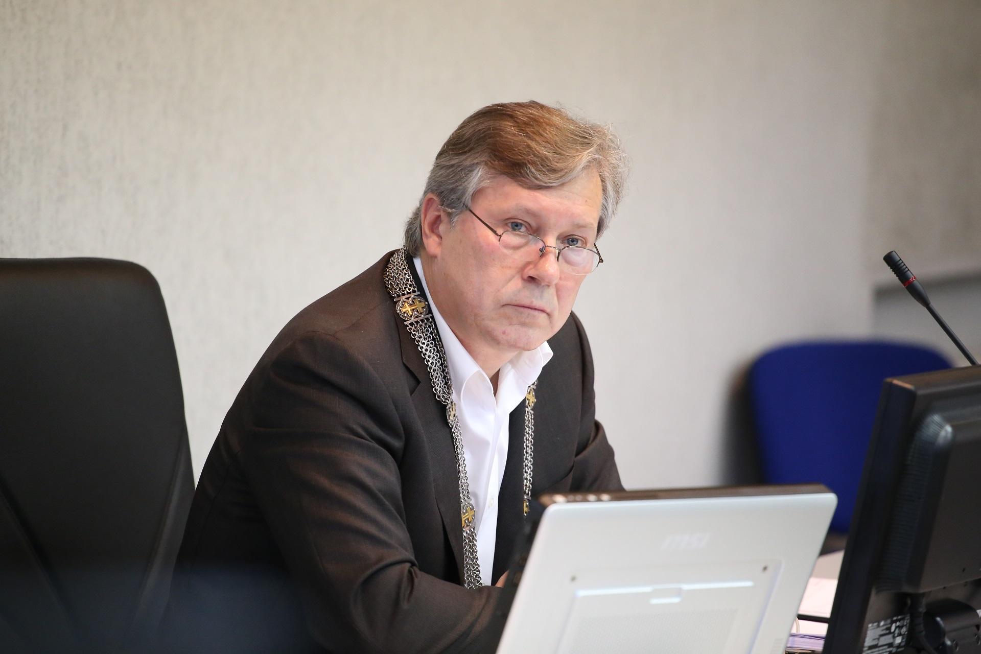 """Saulius Grinkevičius, Kėdainių rajono savivaldybės meras. """"Rinkos aikštės"""" archyvo nuotr."""