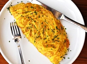 Prancūziškas Gyčio omletas.