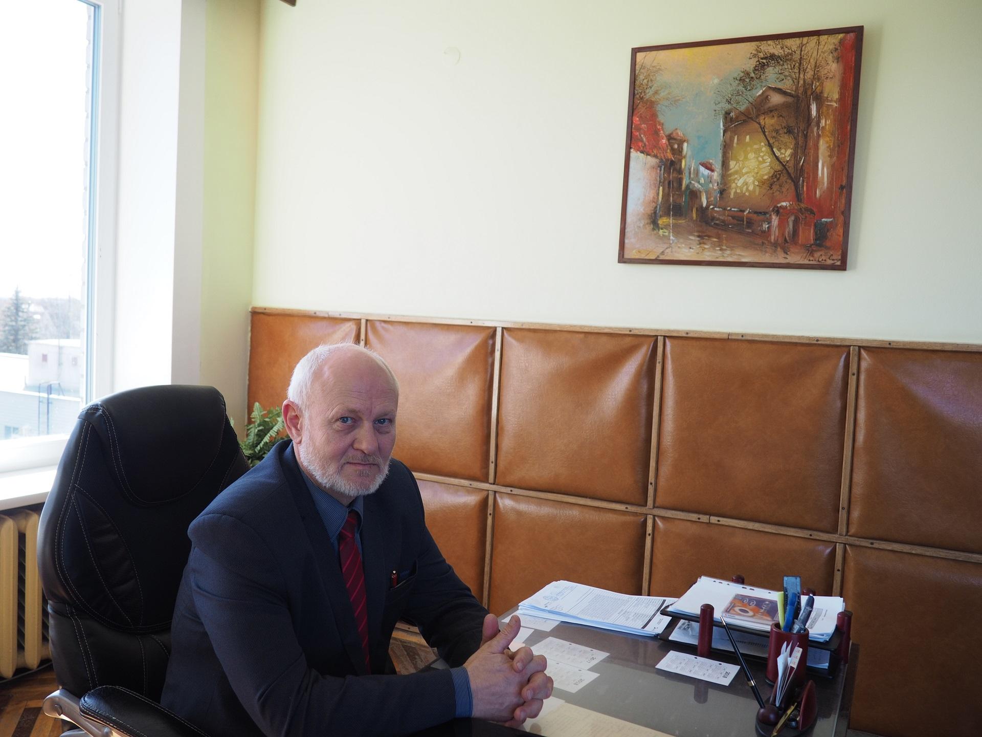 """S. Skauminas: """"Lietuvoje yra apie trisdešimt gydytojų geriatrų – specialistų, dirbančių su senstančia visuomene, o tai – labai mažas skaičius, niekaip negalintis patenkinti šiandieninio poreikio."""""""