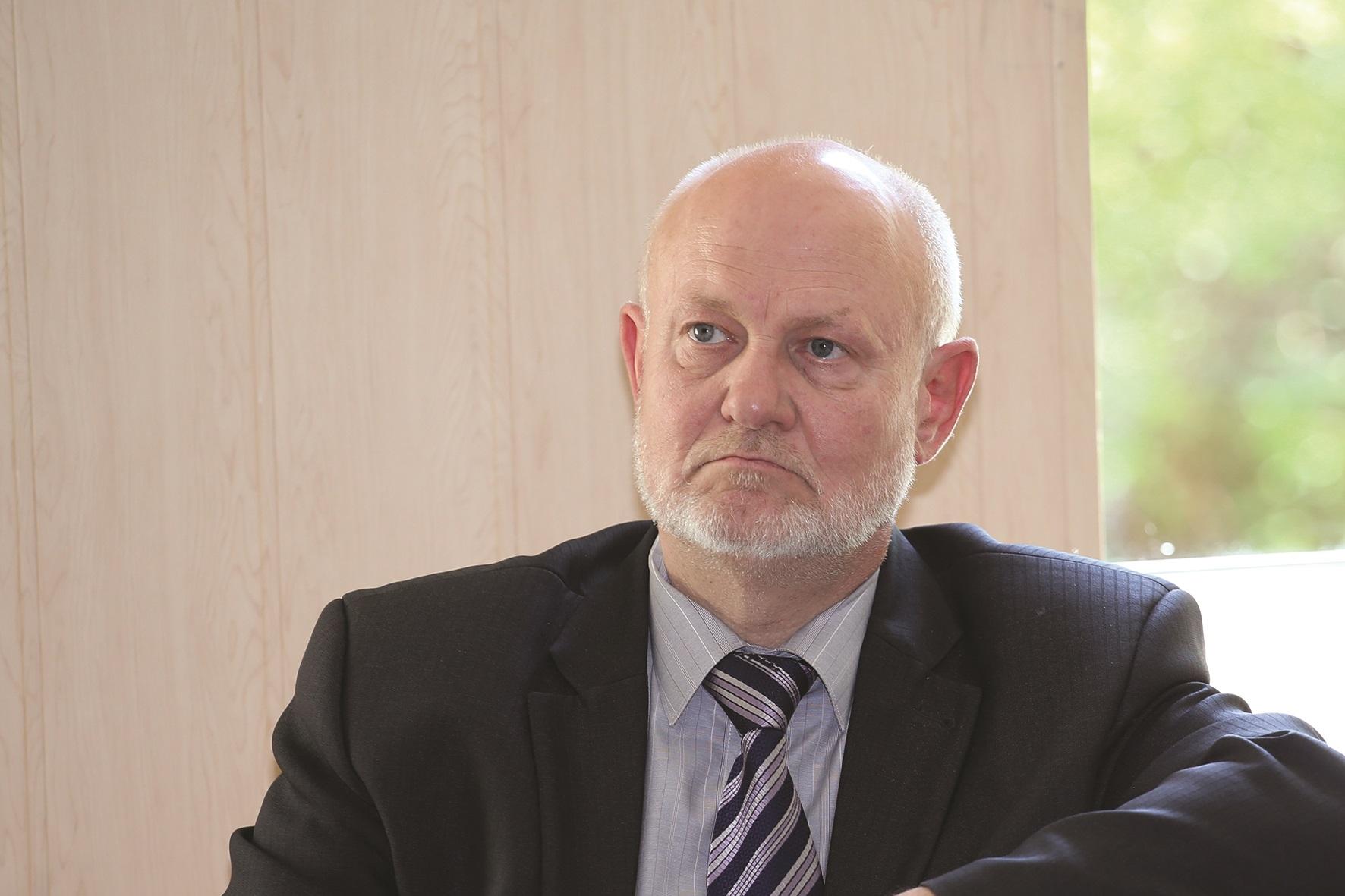 """Kėdainių ligoninės vadovas Stasys Skauminas dalijasi iniciatyva, jog norima įsteigti dieninį geriatrijos stacionarą ir kabinetą. / """"Rinkos aikštės"""" archyvo nuotr."""