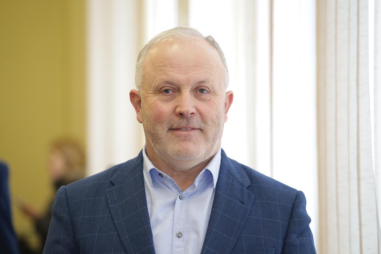 Lietuvos ūkininkų sąjungos pirmininkas Jonas Talmantas įsitikinęs, kad melioracijos tinklų nuosavybės visiškai perduoti žemės savininkams negalima, nes jie paprasčiausiai negalės tinkamai jais pasirūpinti. Giedrės Minelgaitės-Dautorės nuotr.