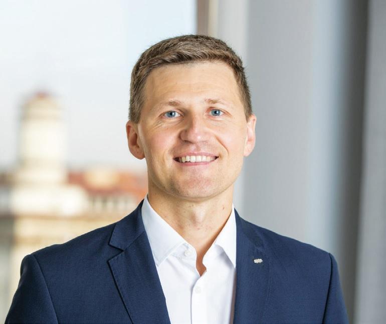 SEB banko valdybos narys, Mažmeninės bankininkystės tarnybos direktorius Vaidas Žagūnis.