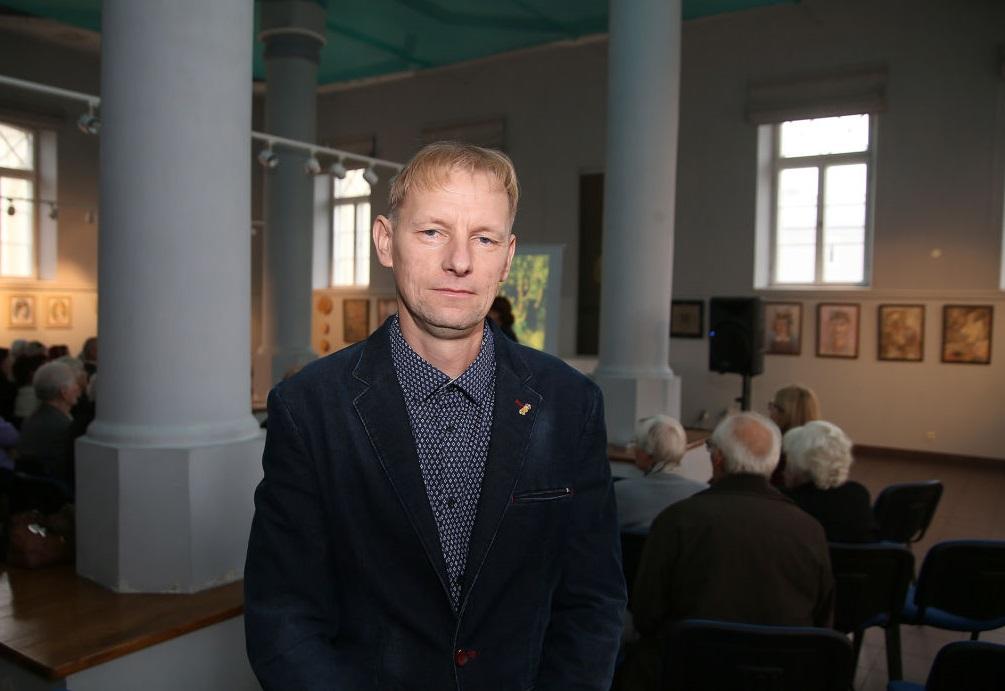 Kėdainių krašto muziejaus istorikas Vaidas Banys pastebi, kad Kėdainių kraštas ir jo partizanai atliko svarbų vaidmenį Lietuvos rezistencinėse kovose. / A. Barzdžiaus nuotr.
