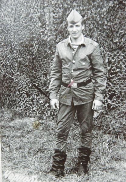 Vasilijus Rysakovas tarnybos Černobilyje metu. Asmeninio archyvo nuotr.