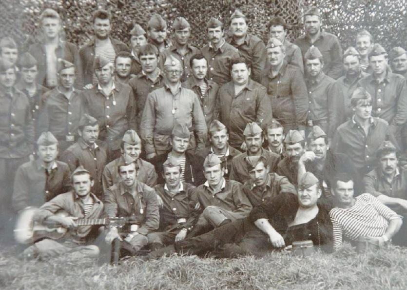 Lietuvių padalinio nuotrauka iš tarnybos Černobilyje. Asmeninio archyvo nuotr.