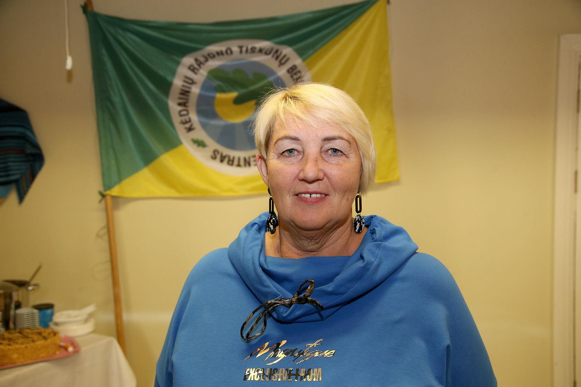 Nuo 2008 metų Tiskūnų bendruomenės pirmininkės pareigas einanti Vida Vansevičienė prasitarė, jog per jos vadovavimo bendruomenei laiką spėta įgyvendinti net 27 projektus, kurie, anot pirmininkės, tampa puikiu įrodymų, jog Tiskūnuose padaryta iš tiesų daug. / A. Barzdžiaus nuotr.