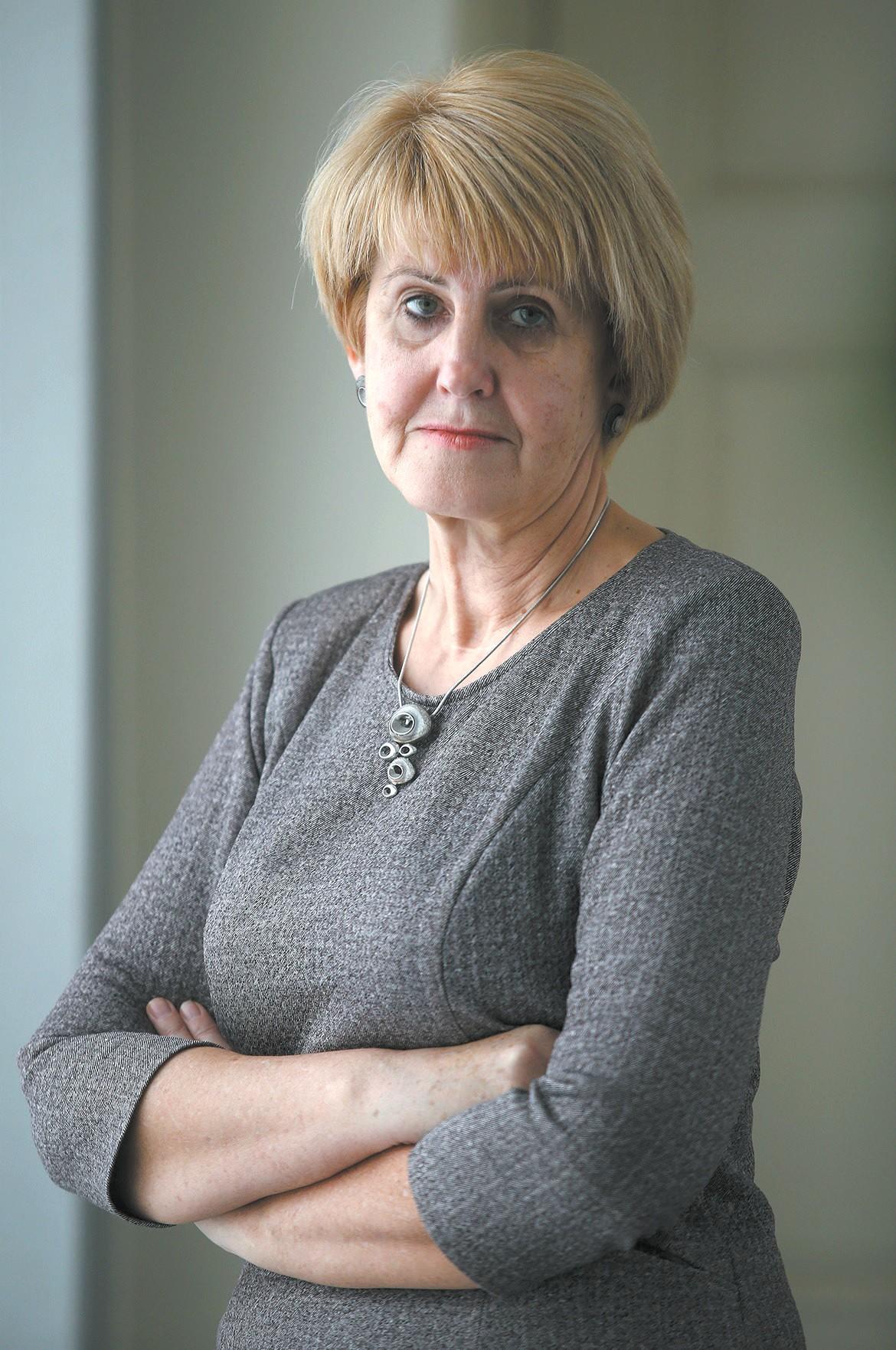 Mikalojaus Daukšos viešosios bibliotekos direktorė Virginija Grigorjevienė. / A. Barzdžiaus nuotr.