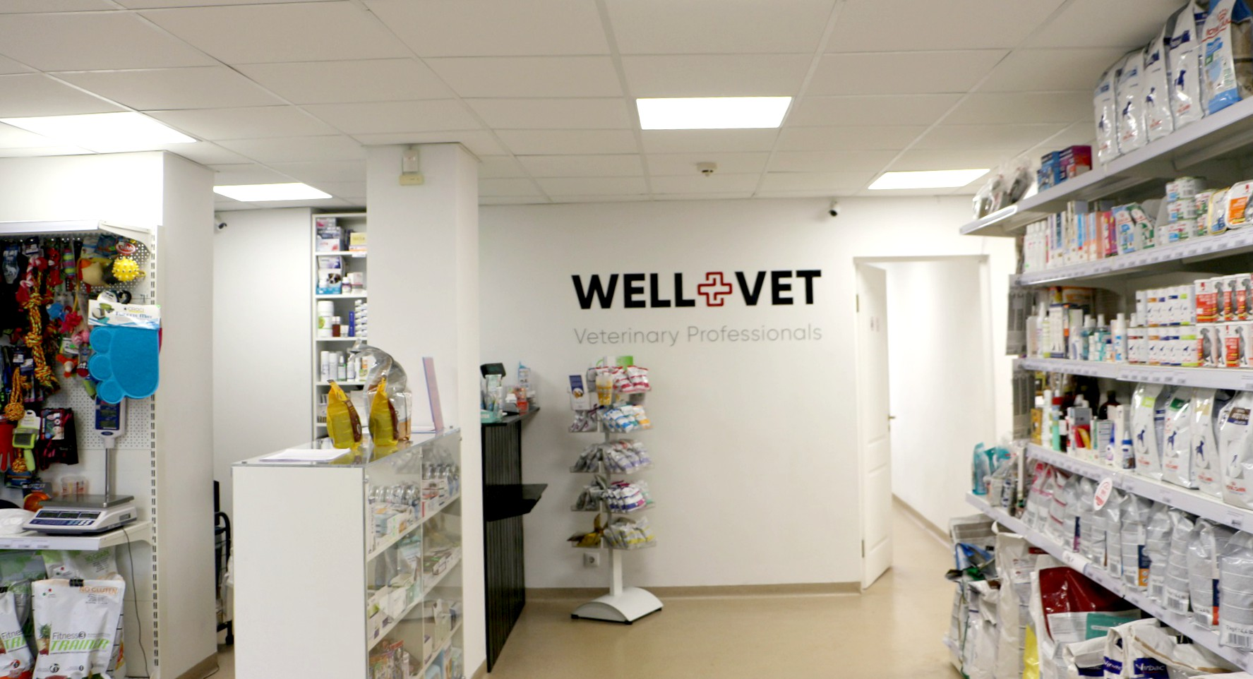 """Kėdainiečiams puikiai žinoma klinika """"Kėdainių veterinarija"""" įsikūrusi Gegučių gatvėje, nuo šiol lankytojus pasitinka nauju pavadinimu – """"Well-vet"""". / K. Mirvienės nuotr."""