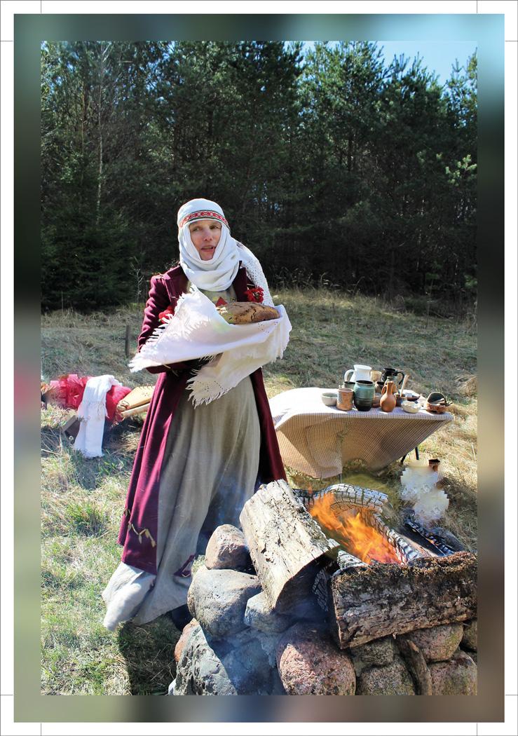 Etnologė D. Šeškauskaitė primena, jog senųjų baltų tradicijoje Žolinės metu didelis dėmesys būdavo skiriamas iš šviežių rugių keptai duonai./ Asmeninio archyvo nuotr.