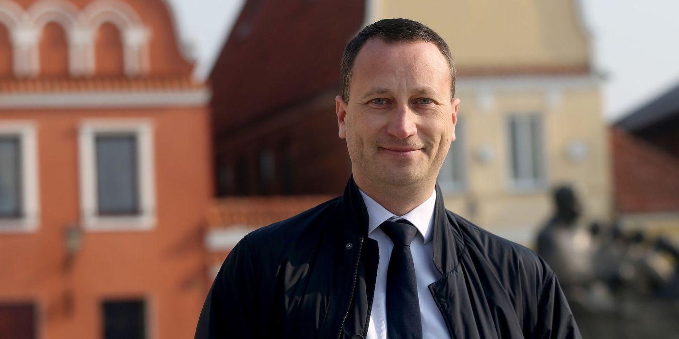 Kėdainių konservų fabriko generalinis direktorius Andrius Viazovskis. / A. Barzdžiaus nuotr.