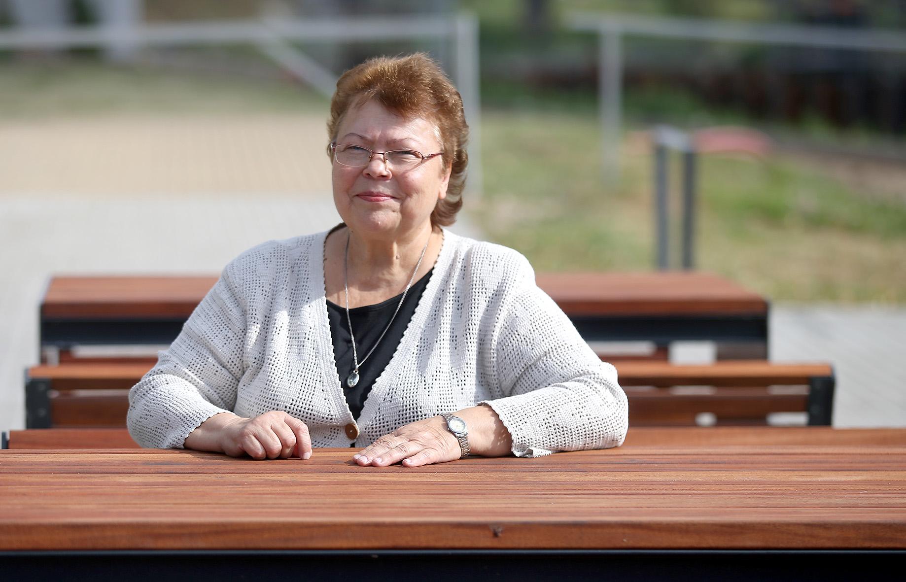 Pasak bibliotekos direktorės Birutės Ruzgienės, viena iš šiuolaikinės bibliotekos misijų – padėti žmonėms pažinti ir gilintis į moderniąsias technologijas. Algimanto Barzdžiaus nuotr.