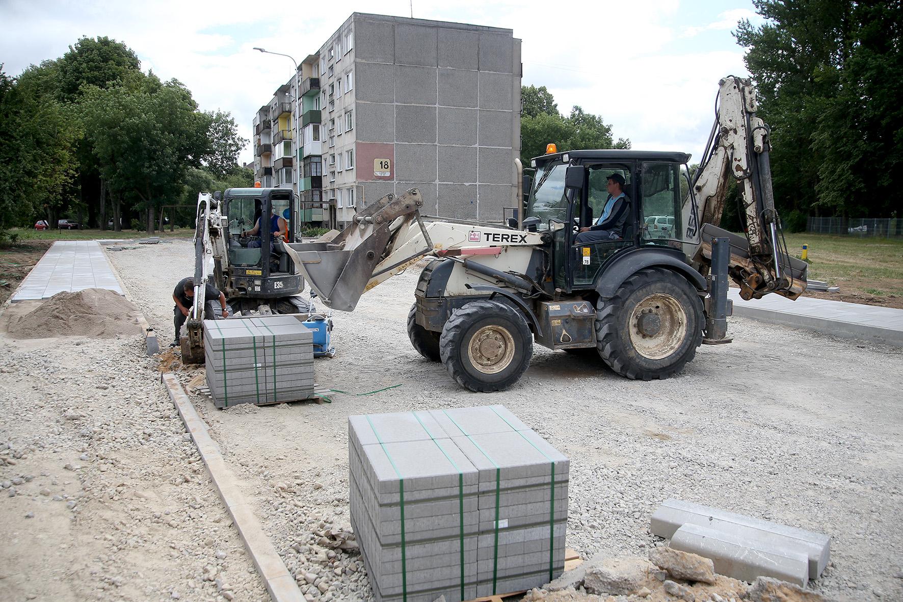 """Įmonė """"Doresta"""" projektus vykdo visoje Lietuvoje, nemažai darbų įmonei patikėta ir Kėdainiuose. Algimanto Barzdžiaus nuotr."""